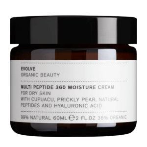 Evolve Multi Peptide 360 Moisture Cream | Packed with superfoods and natural ingredients to deliver comprehensive ageing protection | Organic | Cruelty Free
