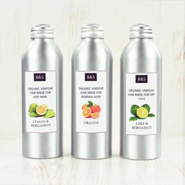 Bain and Savon Organic Vinegar Rinse | Organic Beauty | Plastic Free | Cruelty Free | Natural Haircare | Eco Friendly | Ethical Cosmetics |