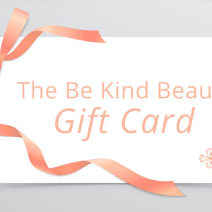 Be Kind Beauty Gift Card | Gift Voucher | Sale | Vegan | Cruelty Free | Make Up | Skincare | Christmas | Birthday | Celebration | Birthday vector created by macrovector - www.freepik.com