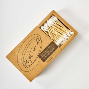 UpCircle Organic Bamboo Cotton Buds | These Organic cotton buds are ocean-friendly, plastic-free and biodegradable | Perfect Low Waste Alternative