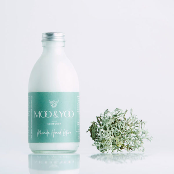 Moo & Yoo Miracle Hand Lotion | Gently cleanses and nourishes hands | Eco-friendly | Plastic Free | Low Waste | Palm Oil Free | Cruelty Free
